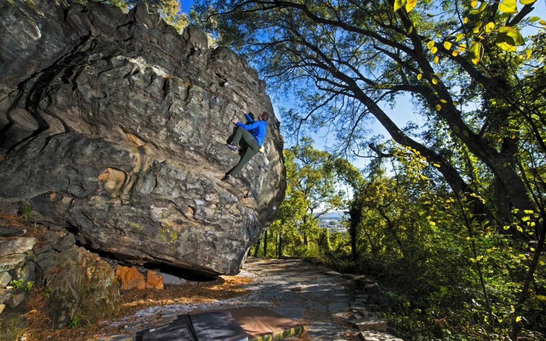 Boulders at Old Wauhatchie (St. Elmo Boulders)